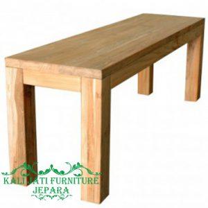 teak bench minimalis - Teak Bench