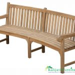 Curved Big Classic Bench