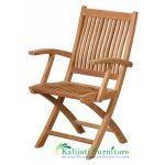 Kiffa Folding Arm Chair