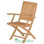Marley Folding Arm Chair