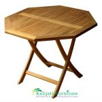 Octagonal Folding Table