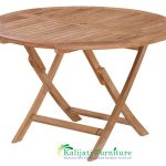 Round Easy Folding Table 2
