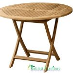 Round Folding Table 2