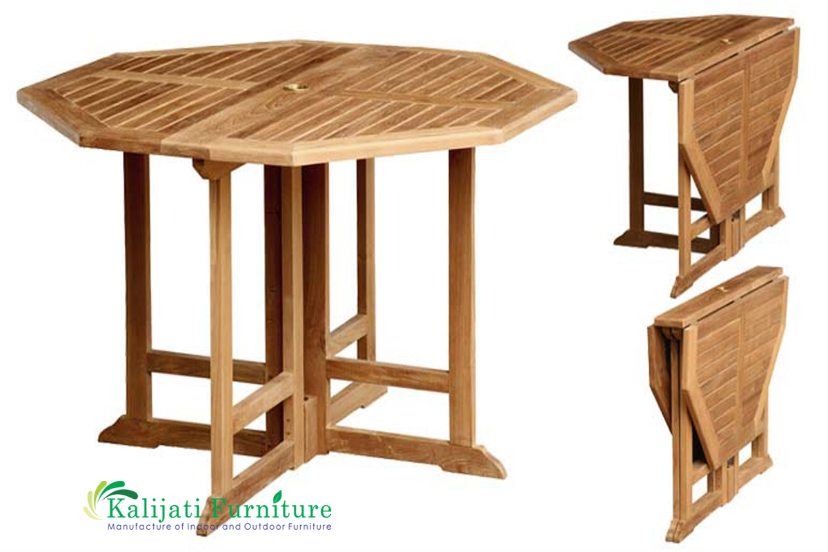 Octagonal Gateleg Table Kalijati